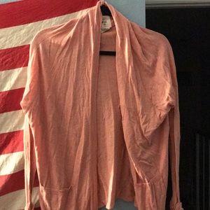 Salmon/peach billabong cardigan